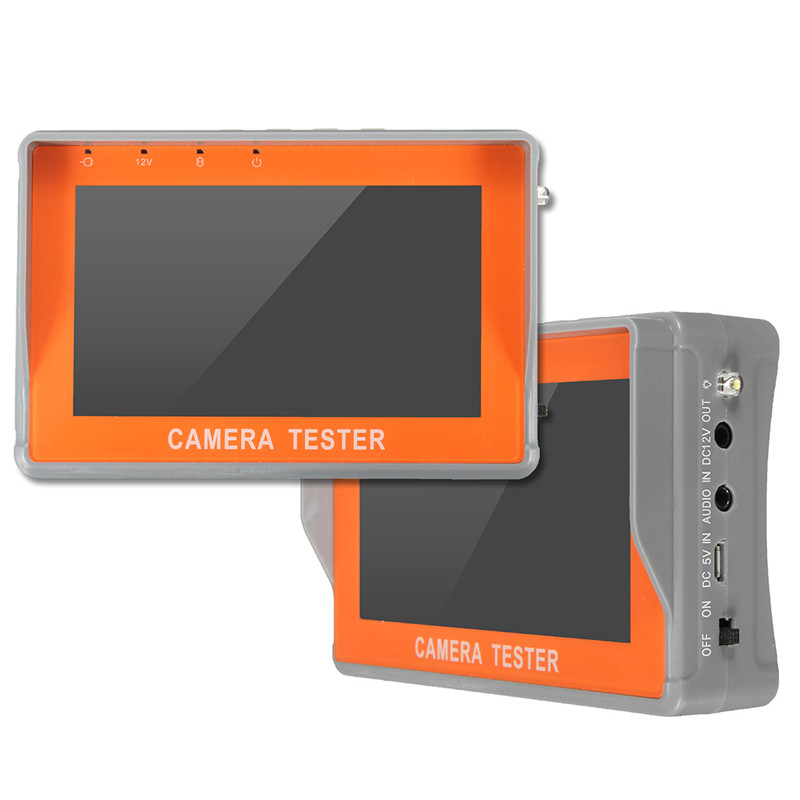 New Portable 4.3 inch CCTV Camera UTP Test Monitor LCD Audio Video Security Tester Free Shipping(China (Mainland))