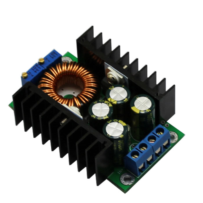 DC - DC step-down Adjustable Constant voltage constant current high-power 12A solar battery charging LED Drive car power module(China (Mainland))
