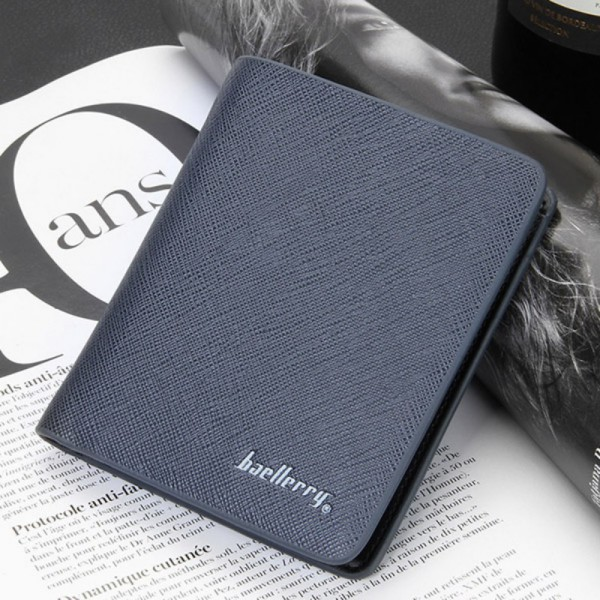 Mens Faux Leather Bifold Credit ID Cards Holder Money Purse Slim Wallet Billfold(China (Mainland))