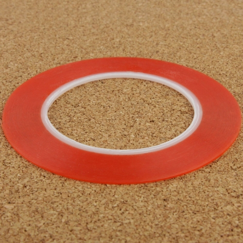 3mm 3M Double Sided Adhesive Sticker Tape for iPhone / Samsung / HTC Mobile Phone Touch Screen Repair Length 25m (Red)(China (Mainland))