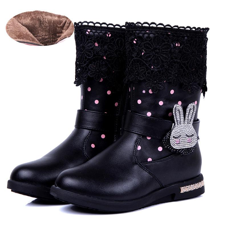 Стиль дети сапоги общий кожа сапоги девочки корейский дизайн сапоги обувь