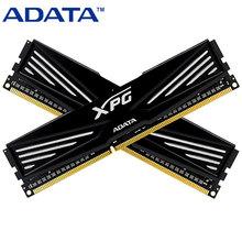 Origine ADATA DDR3 1600 4 GB 8 GB XPG V1 DRAM noir jeu PC mémoire RAM 1600 MHz DIMM 240PIN pour bureau PC ordinateur(China (Mainland))