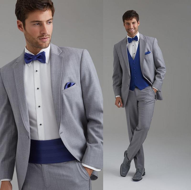Свадебный мужской костюм Sarahbridal 2015 Slim Fit man07