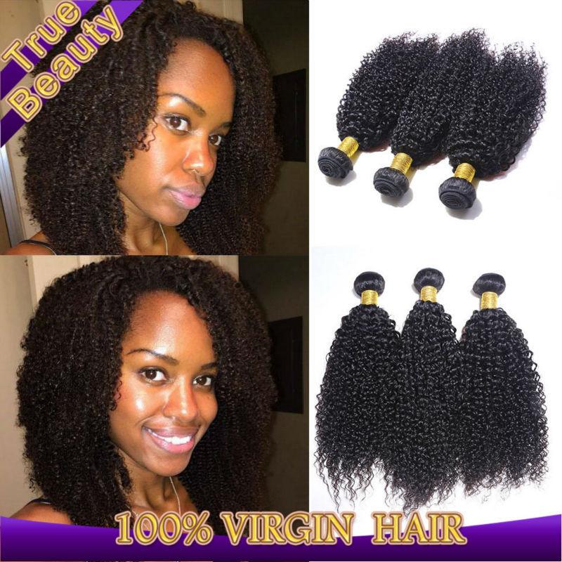 "Eurasian virgin hair kinky curly 2pcs/lot unprocessed human hair extensions kinky curly virgin hair 8""-30"" can be dyed(China (Mainland))"