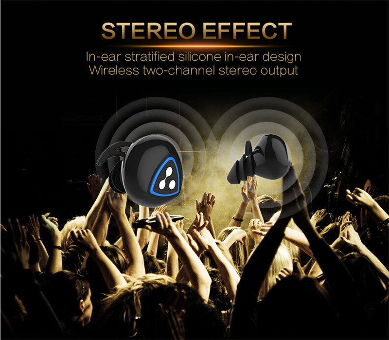 Original Syllable D900S In-Ear Mini Wireless Bluetooth Earphone Stereo With Mic For Iphone 5 6 Mobile Smartphones Retail Box New