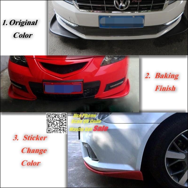 BMW X1 E84 F48 2009~2016Splitter Diffuser Deflector Fin color