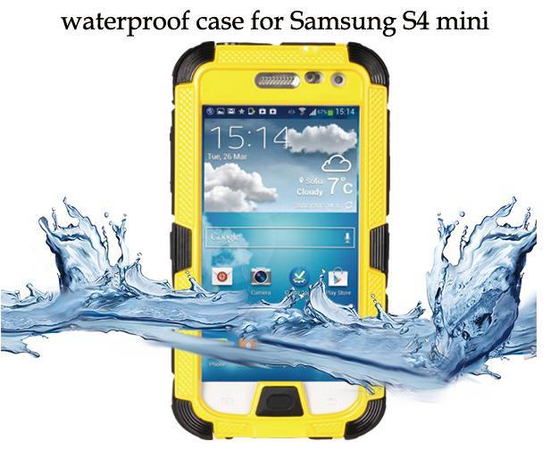 Extreme Luxury Powerful Shockproof Dirtproof Waterproof Metal Aluminum phone Case For samsung galaxy s4 mini i9190(China (Mainland))