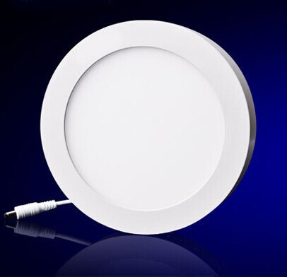 Free shipping 12W Surface Mounted round Led Panel Light AC85-265V Led ceiling Light kitchen light  indoor light<br><br>Aliexpress