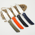 BMT Custom Tactical Folding Knife Ball Bearings Flipper D2 steel blade G10 steel handle outdoor hunt