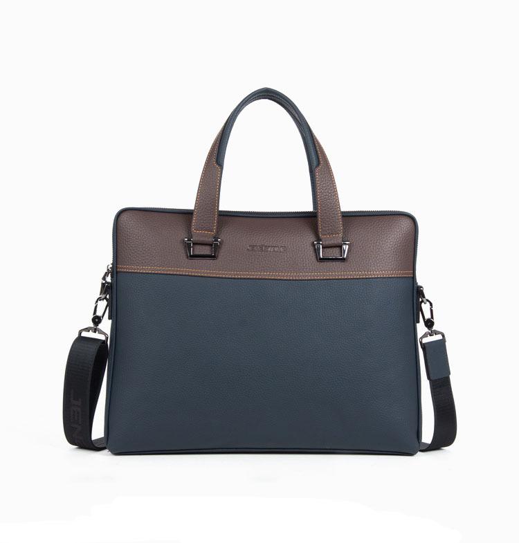 Фотография Men genuine leather handbag shoulder bag men