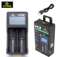 Newest XTAR VC2 Premium USB  battery Charger w/ LCD Screen Display (MC Series Upgrade)