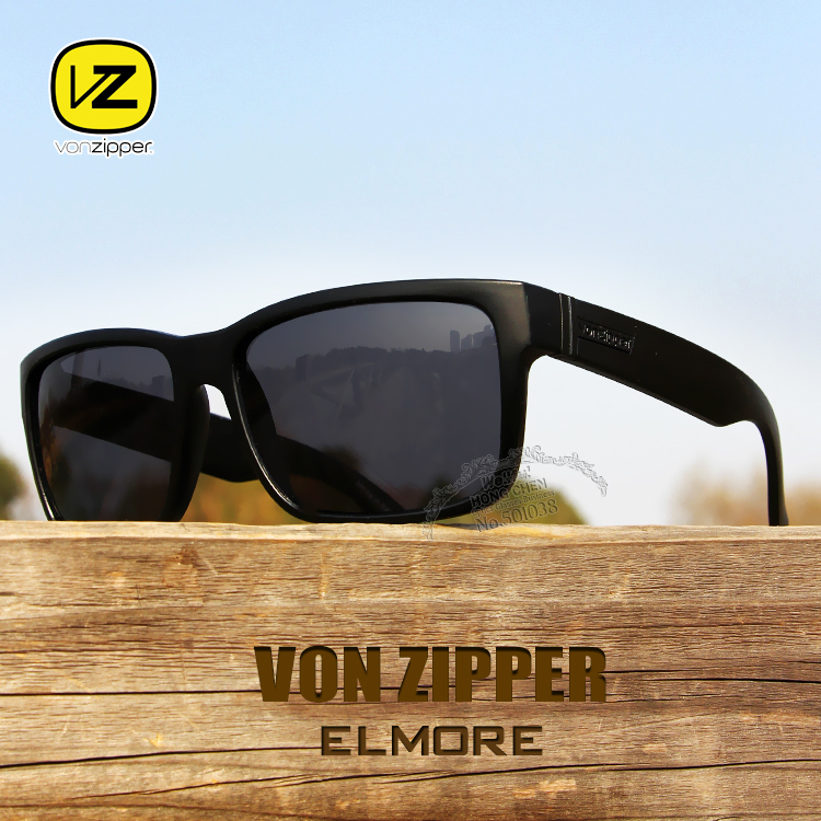 New Von Zipper Sunglasses Men Fashion Women Sun Glasses Vonzipper Elmore Oculos de sol Good Quality Gafas Free Shipping(China (Mainland))