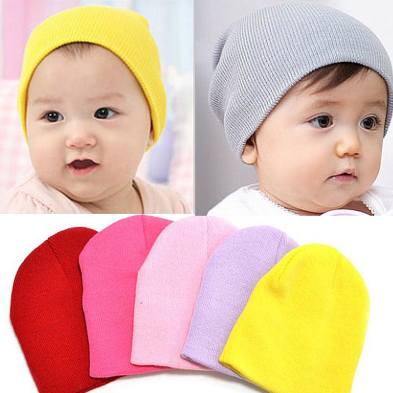 Fashion Candy Color Children Hat In Winter Beanie Hat Beanies for Girls &amp; Boys Crochet Beanie Baby HatsОдежда и ак�е��уары<br><br><br>Aliexpress