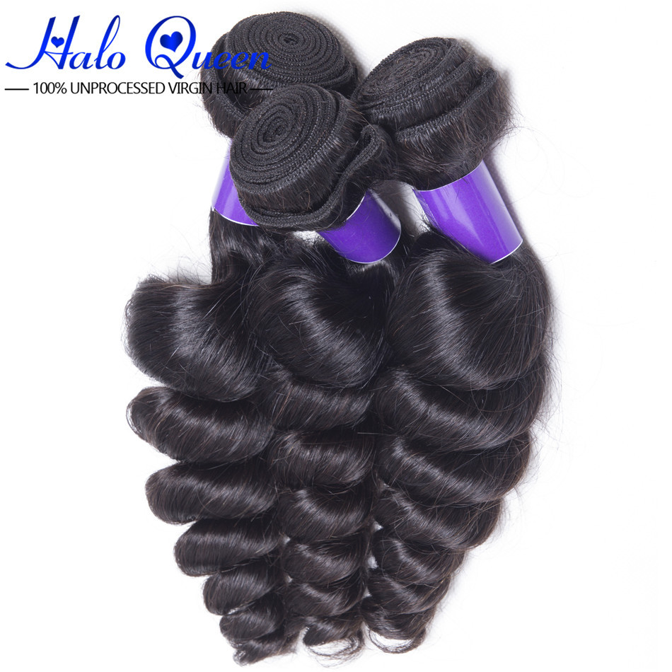 Brazilian Virgin Hair Loose Wave Brazilian Loose Wave Virgin Hair 1pcs Lot 100 Bulk Human Hair Wholesale