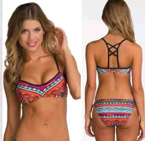 Женское бикини Push up bikini 2015 Biquini 6188 женское бикини my goal push up 3 tankini 040194