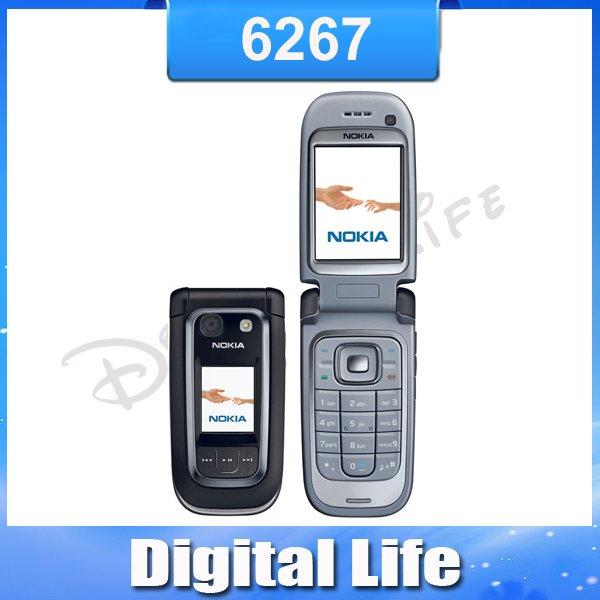 6267 Original Nokia 6267 Unlock Cell Phone Free Shipping(China (Mainland))