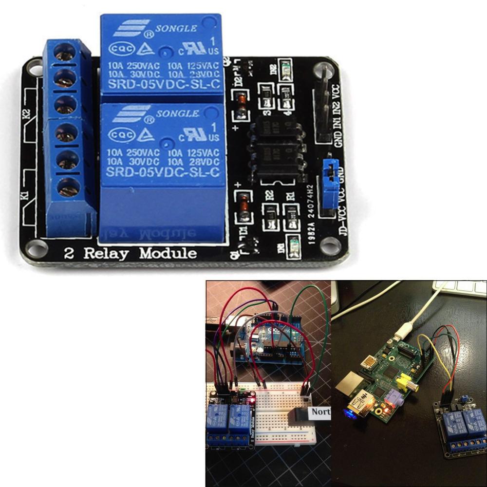 Реле 5V 2/2/arduino AVR