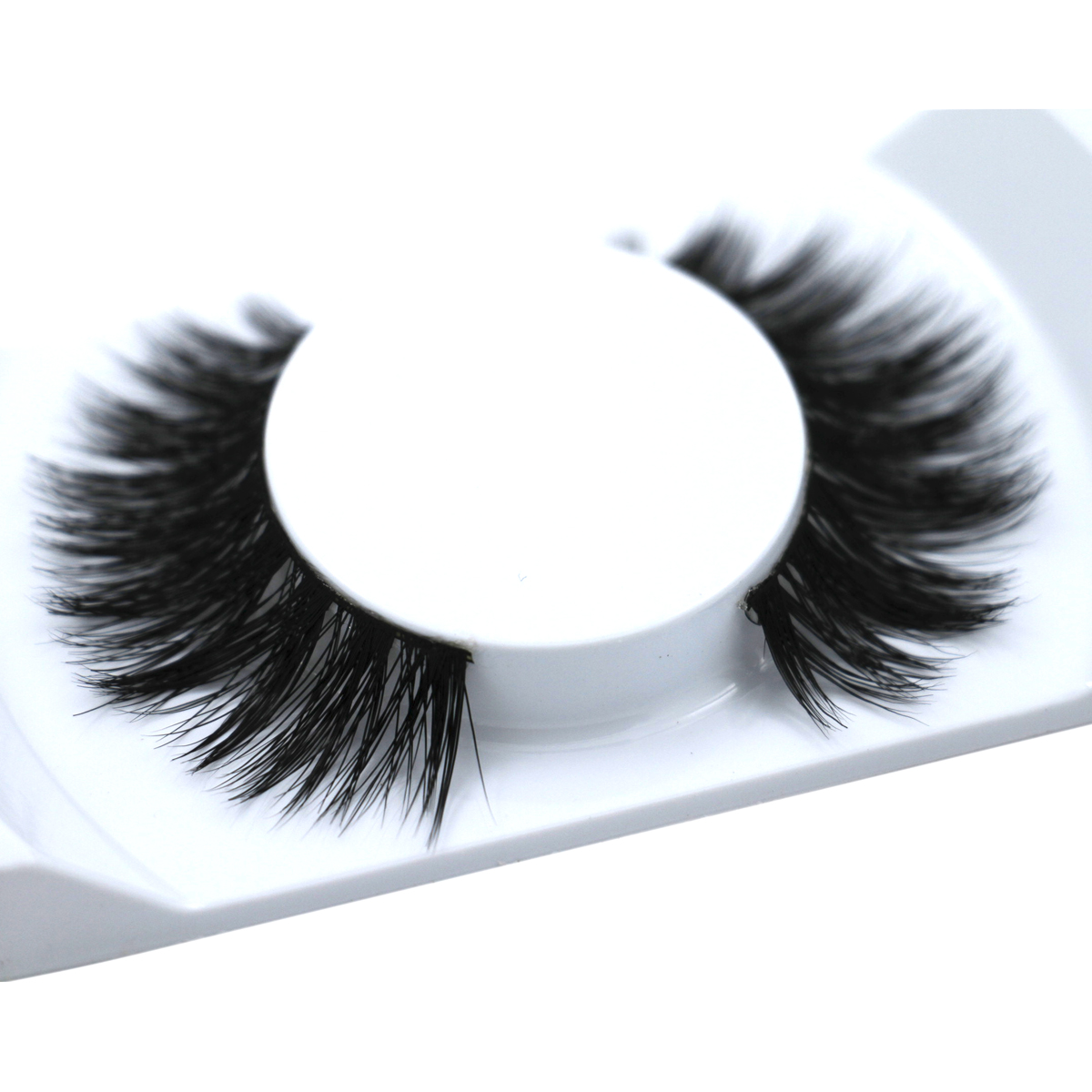 Original Operacosmetics 1 Pair 100% Real Mink Natural Thick False Fake Eyelashes Eye Lashes Makeup Extension Beauty Tools No 001(China (Mainland))