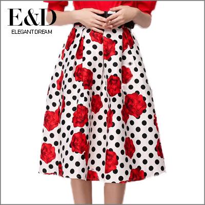 Женская юбка Elegant dream 2015 saias faldas D796 женская юбка saias 2015