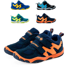 2016 Summer children mesh font b shoes b font boys mixed colors breathable sneakers font b