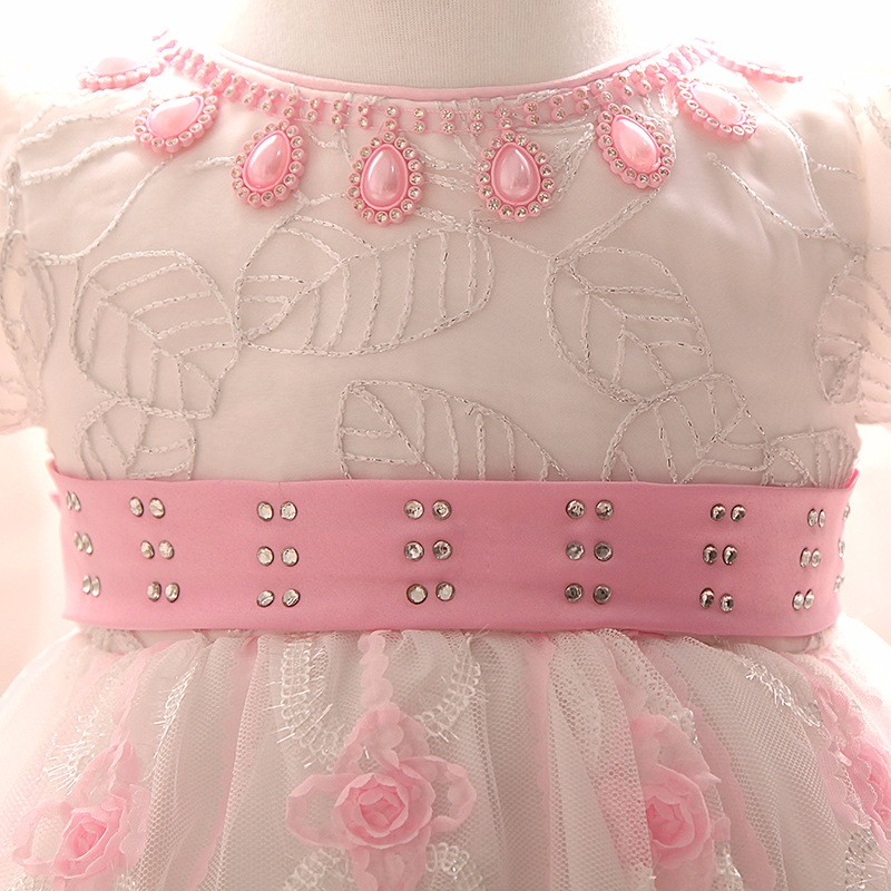 Baby Girls Dress 2016 New Fashion Kids Princess Birthday Party Tulle Wedding Dresses Christmas Dress Newborn Infant Clothes 0-2Y-6