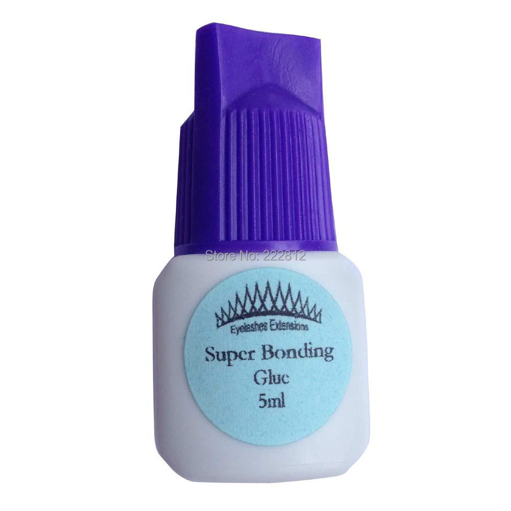 CrownLash Super Bonding Glue Eyelash Extension 5ml Fast drying Strong Bonding Crown Lash(China (Mainland))