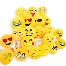 BeddingOutlet Cute Emoji Cushion Home Smiley Face Pillow Stuffed Toy Soft Plush 32cmx32cm Best Sell(China (Mainland))