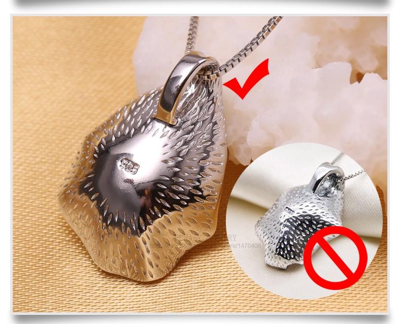 HTB1ZCeOKXXXXXXpXpXXq6xXFXXXW - FENASY charm Shell design Pearl Jewelry,Pearl Necklace Pendant, 925 sterling silver jewelry ,fashion necklaces for women 2016