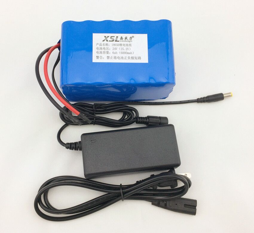 Фотография 24 6Ah 7S3P 18650 Lithium Battery 29.4 V 6000 mAh electric bike moped / electric / lithium-ion battery + charger
