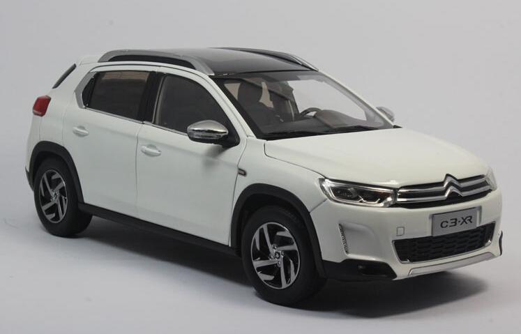 2015 hot sell Citroen C3-XR 1:18 alloy car model(China (Mainland))