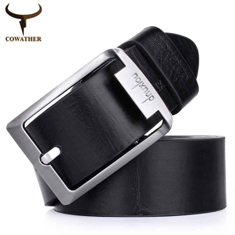 2015 fashion TOP faux Leather men belts for Men and Women,brown black color pin buckle,cinto masculino free shipping(China (Mainland))