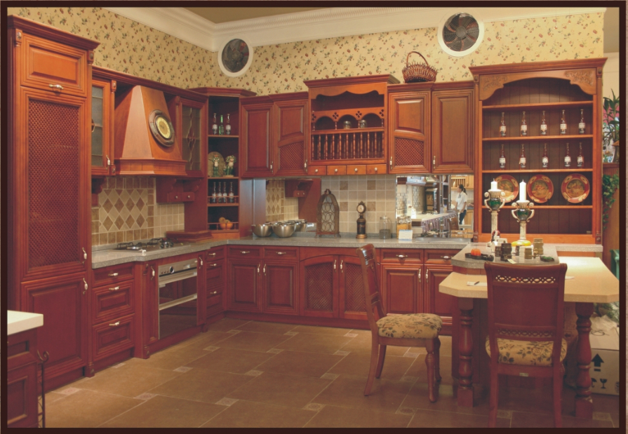 Good quality white kitchen cabinets for Quality kitchen designs