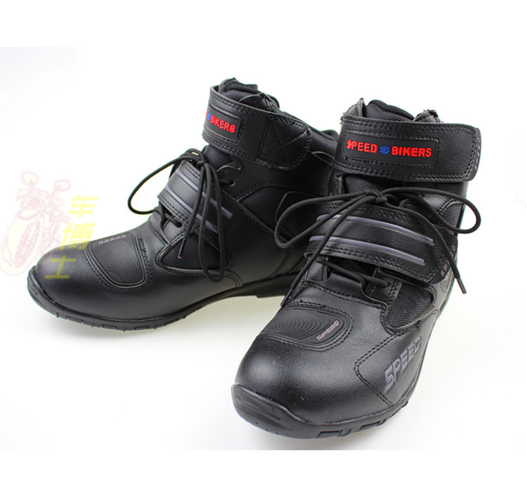 PRO-BIKER SPEED Hot Wheels knight boots casual boots sport boots A005 / black, free shipping