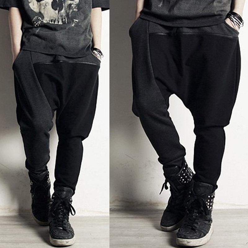 2016 New style korean fashion men's pants hip hop sports harem pants sweat jogging outdoors trousers free shipping KU67(China (Mainland))