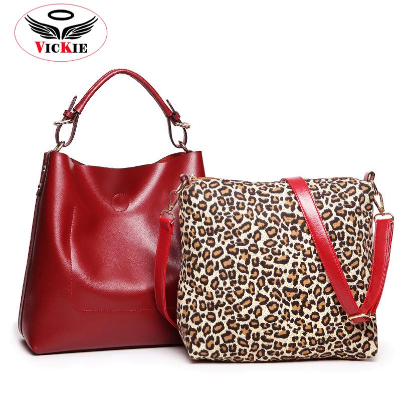 2015 Genuine Leather Women Totes Vintage Composite Bag Natural Leather Women Messenger Shoulder Bags Brand Office Bag Bolsa HT15(China (Mainland))
