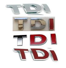 TDI GTI Badge Emblem Decal Sticker Logo VW for VW Skoda Golf JETTA PASSAT MK4 MK5 MK6 Car styling car accessories(China (Mainland))
