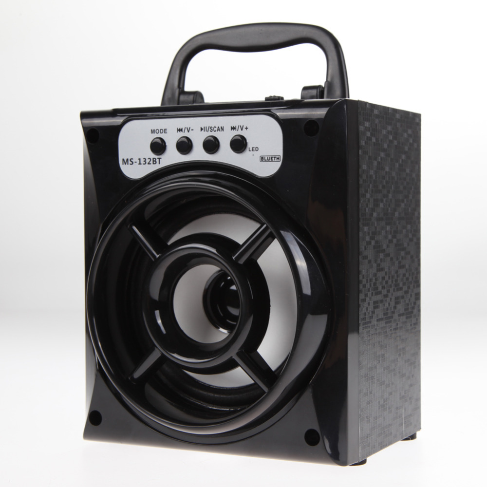 Newest Design Outdoor Bluetooth Portable Speaker Super Bass Haut-Parleurs with USB/TF/AUX/FM Radio(China (Mainland))