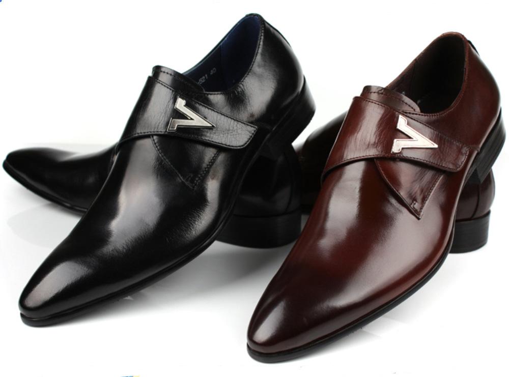 Online Get Cheap Brown Buckle Dress Shoes -Aliexpress.com ...