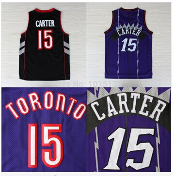 Гаджет  Free Shipping Vince Carter Toronto Jersey #15 Wholesale  Cheap Basketball Throwback Jersey Sport Shirt None Спорт и развлечения