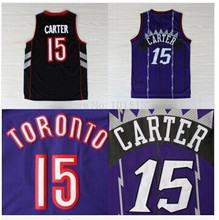 Free Shipping Vince Carter Jersey #15 Wholesale Cheap Basketball Throwback Jersey Sport Shirt(China (Mainland))