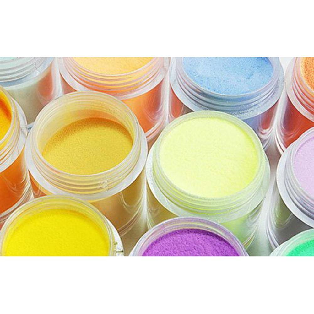 Special Sale!New Practical Superior Durable 24 Color Acrylic Powder Dust Nail Art Decoration(China (Mainland))