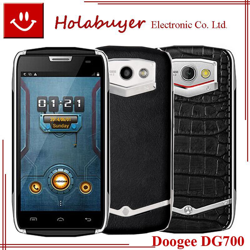 Original DOOGEE TITANS2 DG700 Waterproof Phone 4.5'' MTK6582 1GB RAM 8GB ROM Quad Core 8MP rear CAM Android 4.4 system 3G Phone(China (Mainland))