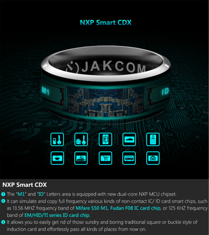 JAKCOM R3 Smart Ring Hot sale in Wireless Adapter like bt transmitter Bluetooth Transmitter Bluetooth For Headphon
