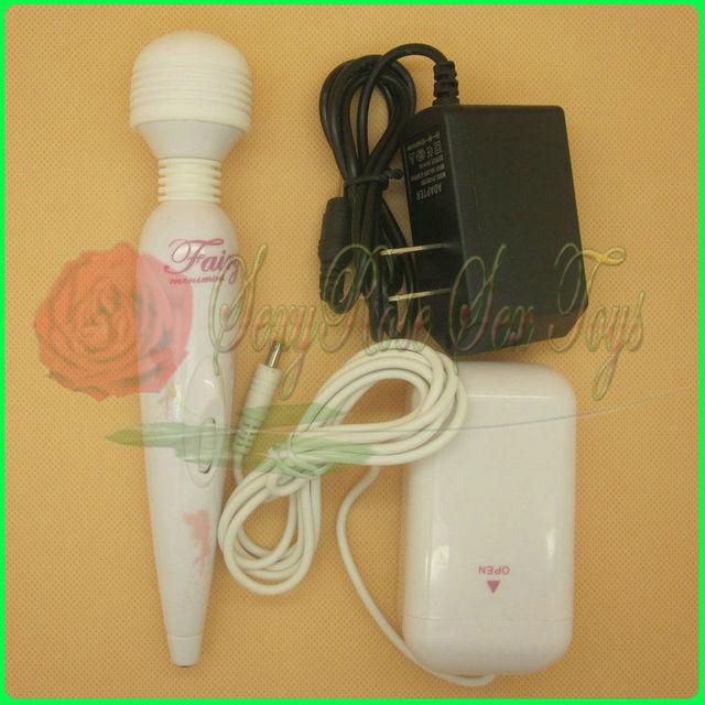 D0171 Multi-Speed Wand Massager,White AV Vibrator, Sex Toys For Women,Sex products