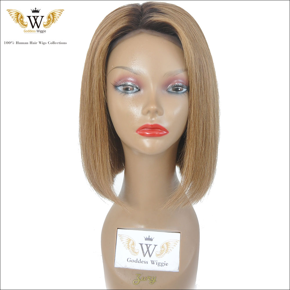 Blonde Human Hair Short Bob Full Lace Wigs With Baby Hair Brazilian Ombre Bob Cut Front Lace Human Hair Wigs Bob Style<br><br>Aliexpress