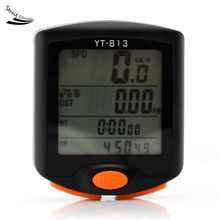 Buy Big LED Display Nightlight Rainwater-proof Cycling Bicycle Bike 24 Functions Computer Odometer Speedometer for $12.32 in AliExpress store