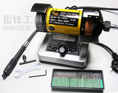Micro grinding machine with soft shaft speed grinding machine grinder desktop engraving machine engraving mill 30(China (Mainland))