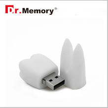 white tooth pen drive 4GB 8GB 16GB 32GB 64GB Cute usb flash drive lovely creative personality usb 2.0 hot saleve personality