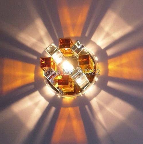 New Modern Crystal 3W LED Ceiling Light Fixture led indoor light led ...