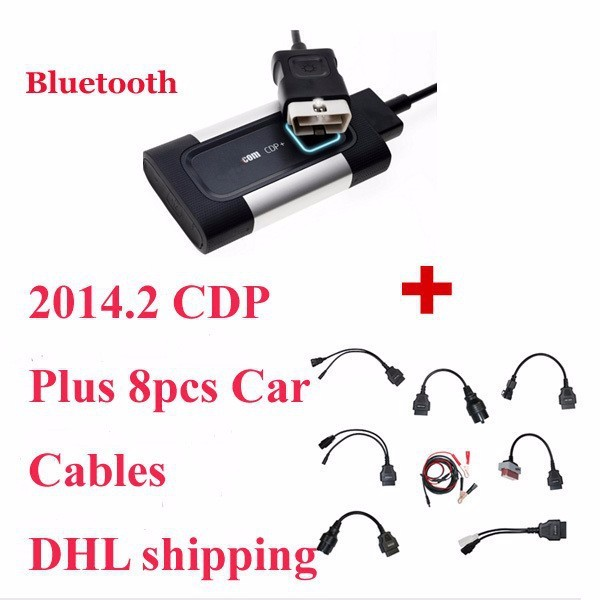 2016 Price Newest Version TCS CDP PRO Autocom Bluetooth full set car cables,three years warranty time